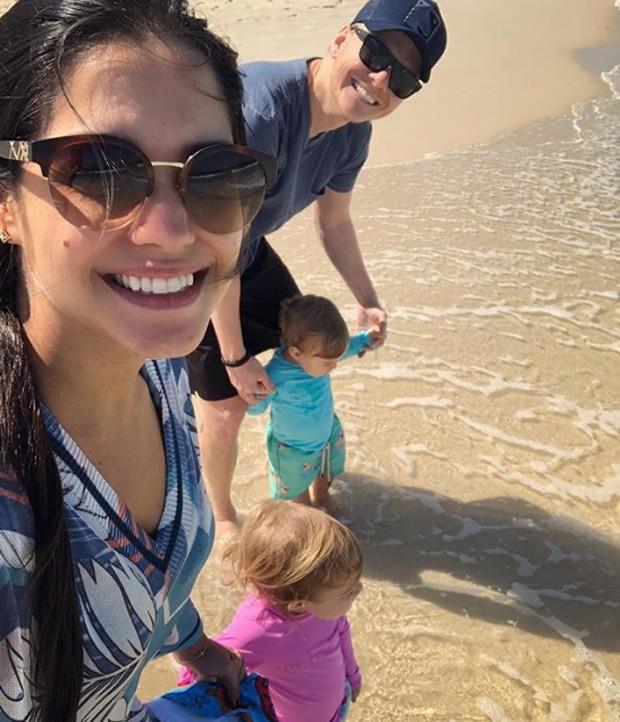 Michel Teló, Thais Fersoza e filhos (Foto: Reprodução/Instagram)