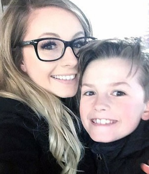 Lauren Smith e Ben (Foto: Reprodução Instagram)