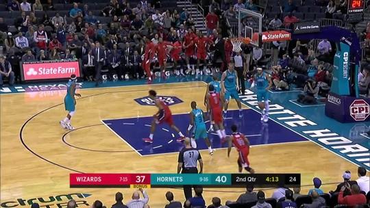 Melhores momentos: Charlotte Hornets 114 x 107 Washington Wizards, pela NBA