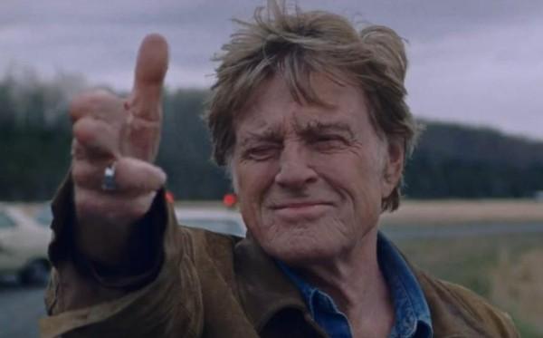 Redford em seu último filme, 'The Old Man & the Gun' (2018) (Foto: Divulgação)