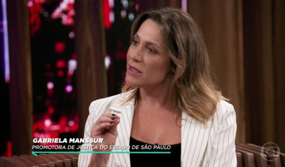 Gabriela Manssur contou como soube do caso de Isabelle — Foto: Reprodução/TV Globo