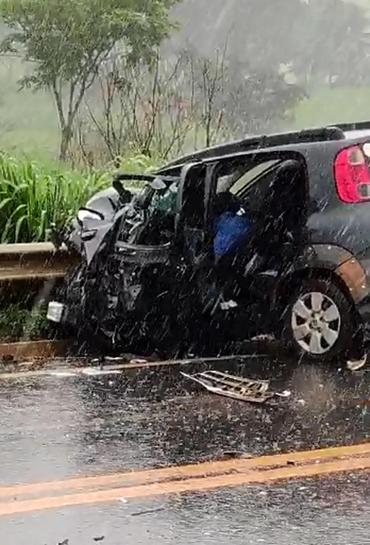 Sargento estava acompanhado da namorada e enteado no momento do acidente — Foto: Reprodução/Redes Sociais