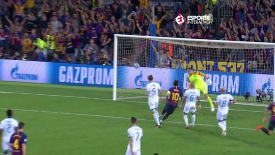Messi bate recorde pessoal com oito gols de falta em 2018. E cabem mais...