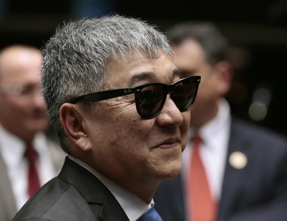 Newton Ishii, o Japonês da Federal (Foto: Jorge William /Agência O Globo)