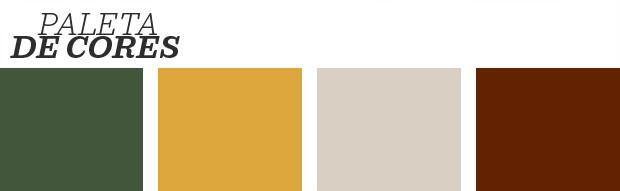 Décor do dia: Quarto de casal na paleta modernista (Foto: Reprodução)