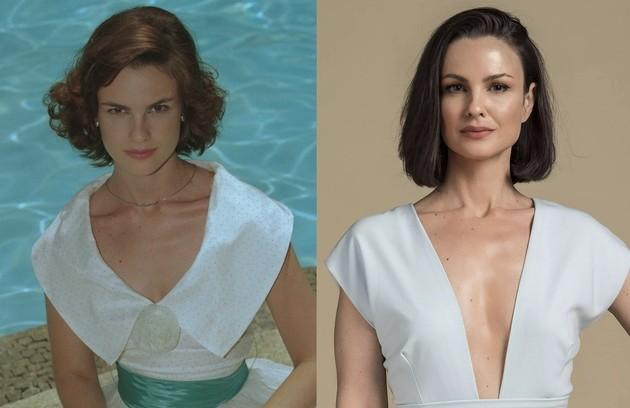 Carolina Kasting viveu Bela B. A atriz esteve no elenco de 'Salve-se quem puder' (Foto: Reprodução)