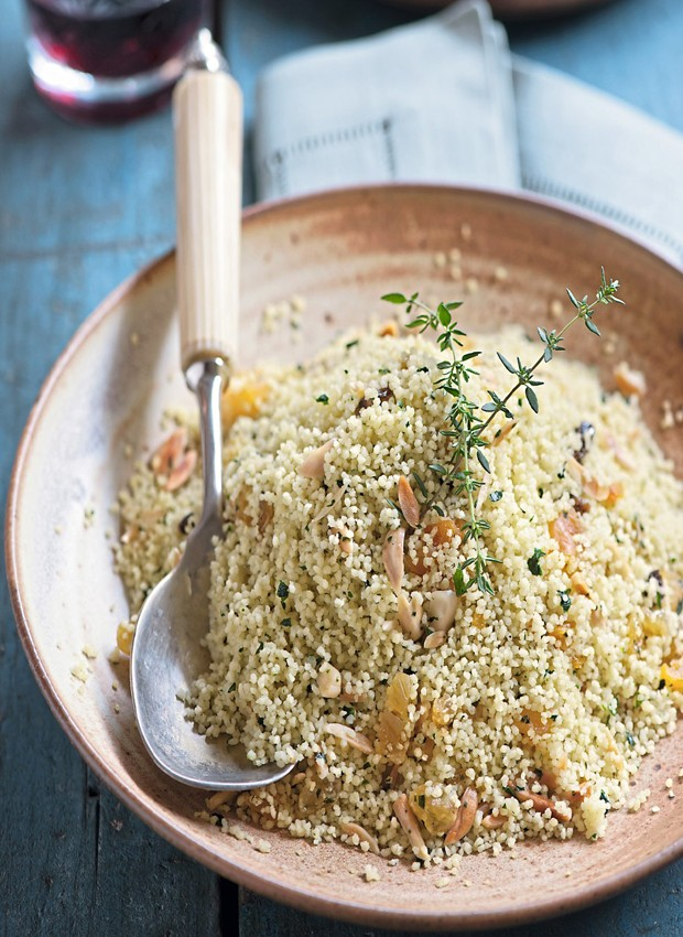 Salada de cuscuz marroquino (Foto: Iara Venanzi / Editora Globo)