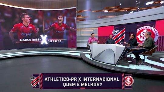 """""""Quem é melhor?"""" Comentaristas escalam a seleção da final da Copa do Brasil entre Athletico e Inter"""