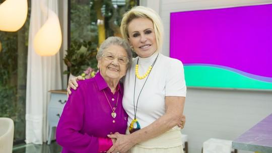 Palmirinha chora ao reencontrar Ana Maria Braga: 'Hoje, eu posso morrer'