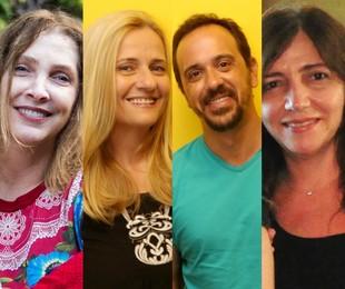 Adriana Falcão, Martha Mendonça, Nelito Fernandes e Jô Abdu | Bárbara Lopes, Marcos Ramos e TV Globo