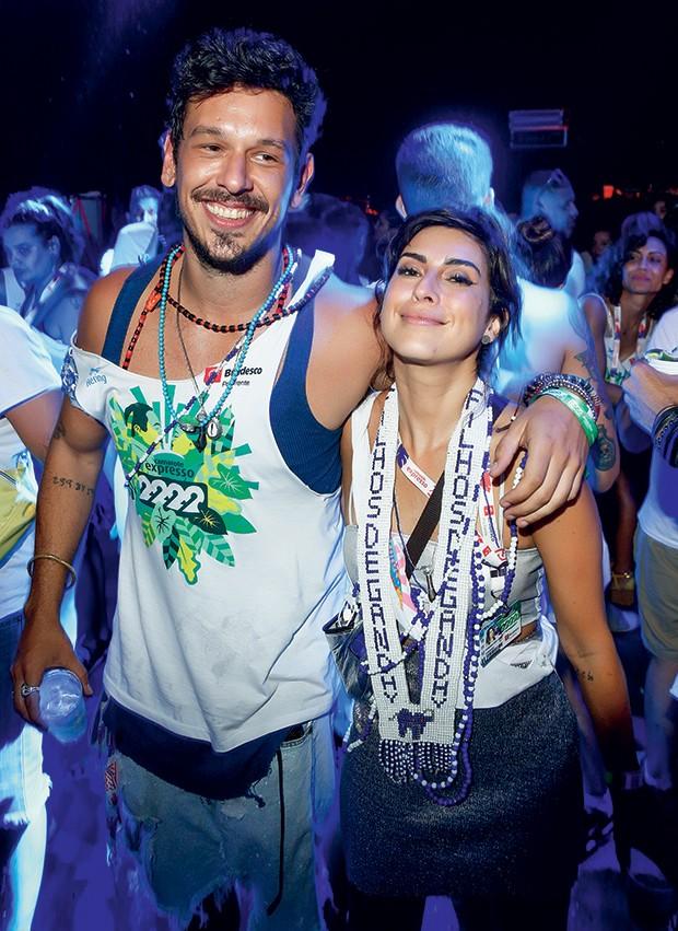 João Vicente de Castro e Fernanda Paes Leme no Expresso 2222 (Foto: Ricardo Cardoso/ QUEM)