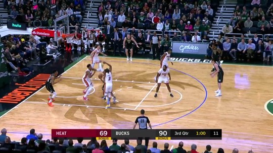 Antetokounmpo comanda, Bucks atropelam o Heat e abrem vantagem para os Raptors