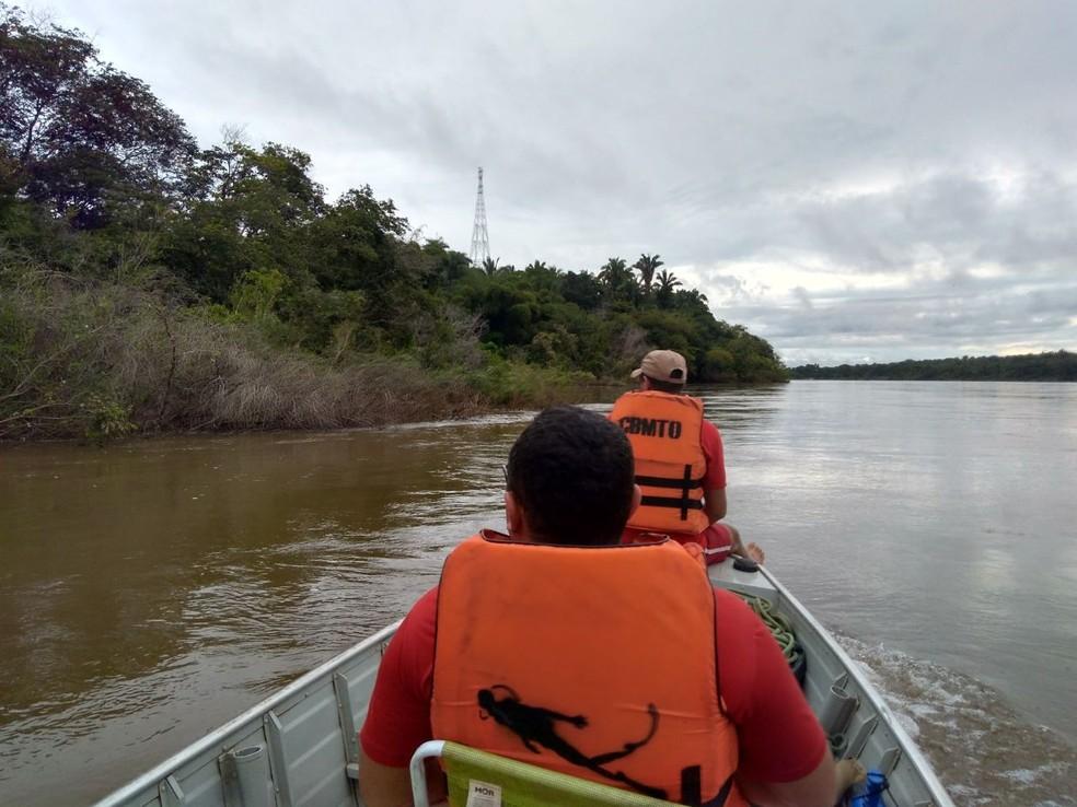 Buscas ocorreram durante três dias (Foto: Bombeiros/Divulgação)