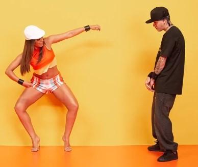 Anitta e Kevinho em 'Terremoto'