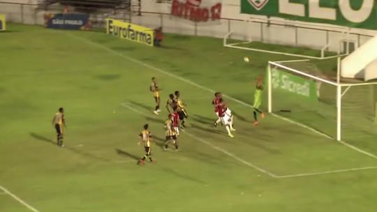 Prêmio Dener: gol de Rickson, da Portuguesa, é eleito o mais bonito da segunda rodada da Copinha
