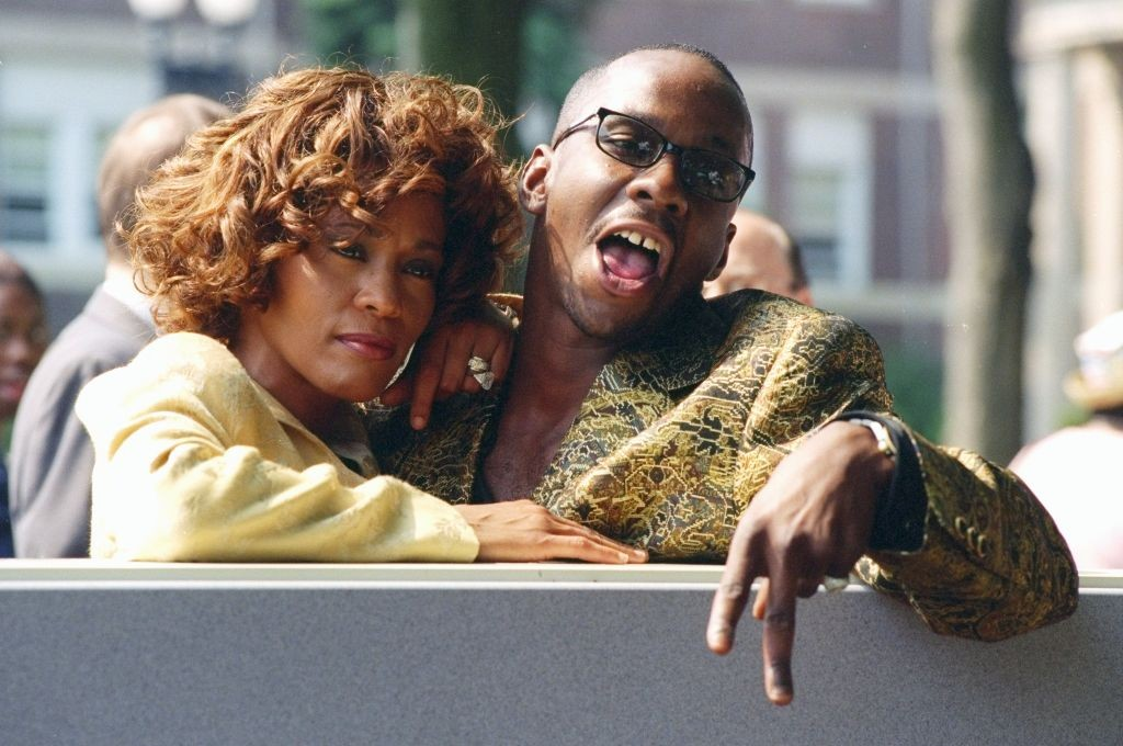 Whitney Houston e Bobby Brown (Foto: Getty Images)