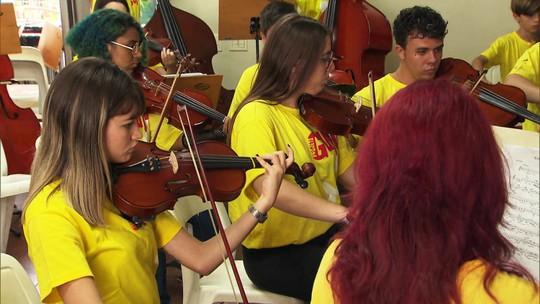 Projeto Guri oferece aulas gratuitas de música para 50 mil crianças e adolescentes