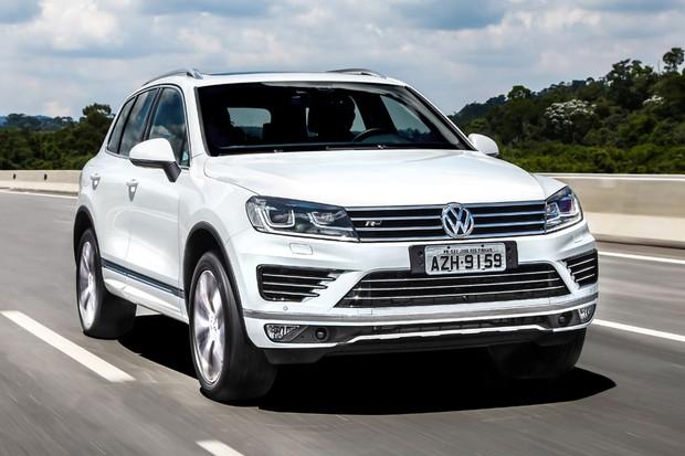 Volkswagen Touareg V8 R-Line (Foto: Divulgação)
