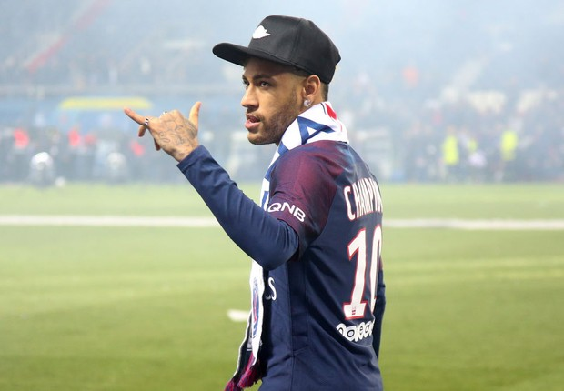 Neymar, no PSG (Foto: Jean Catuffe/Getty Images)