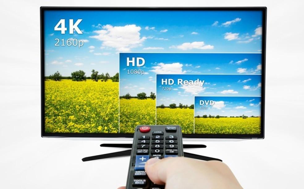 Resolução 4K significa tela capaz de exibir imagens com maior riqueza de detalhes (Foto: Divulgação/Samsung)