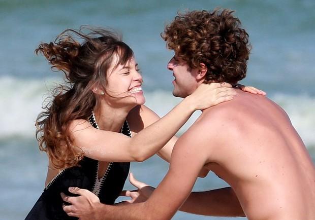 Joana Borges e Eike Duarte (Foto: AgNews)