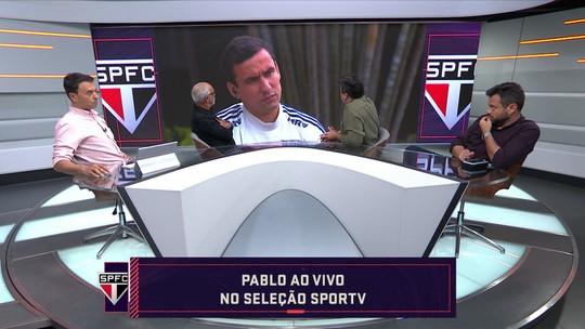 """Pablo supera ansiedade para voltar a marcar pelo São Paulo e revela detalhe sobre gol: """"Estava exausto"""""""