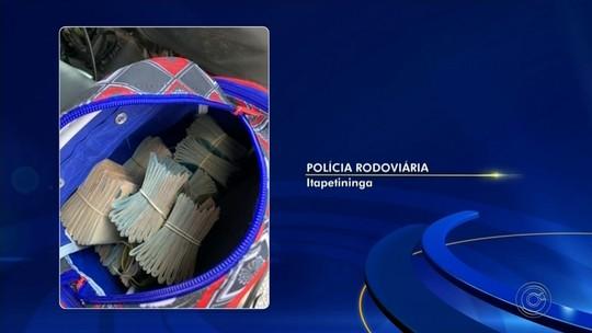 Passageiro de ônibus é preso por corrupção ativa após abordagem policial em Capão Bonito