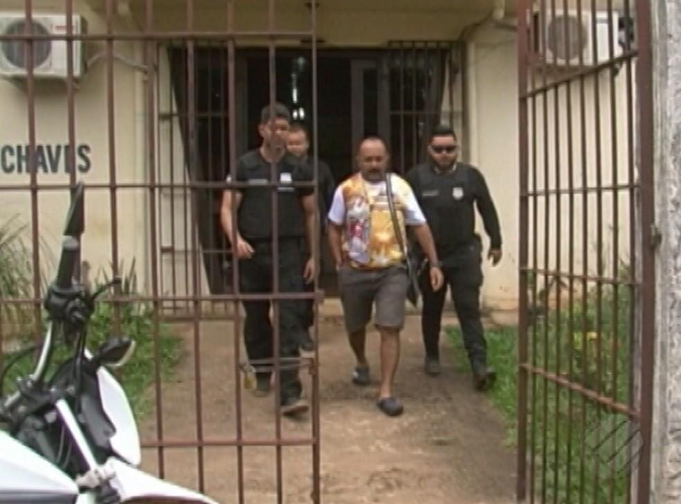 Liderança da CPT no Pará e braço direito de missionária Dorothy Stang, Padre Amaro teve prisão preventiva cumprida pela Polícia do Pará, após decisão da Justiça. (Foto: Reprodução / TV Liberal)