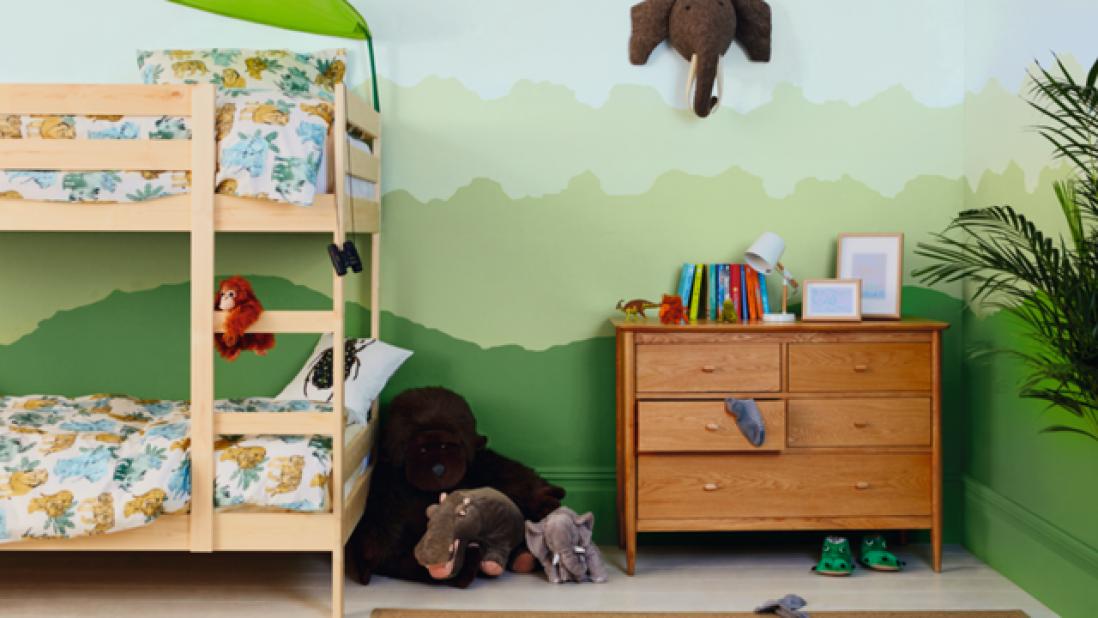 Quartos divertidos ajudam a estimular a criatividade dos pequenos (Foto: Reprodução)