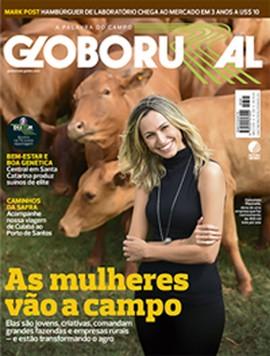 Capa Globo Rural - 391 - maio - tamanho menor (Foto: Redação Globo Rural)