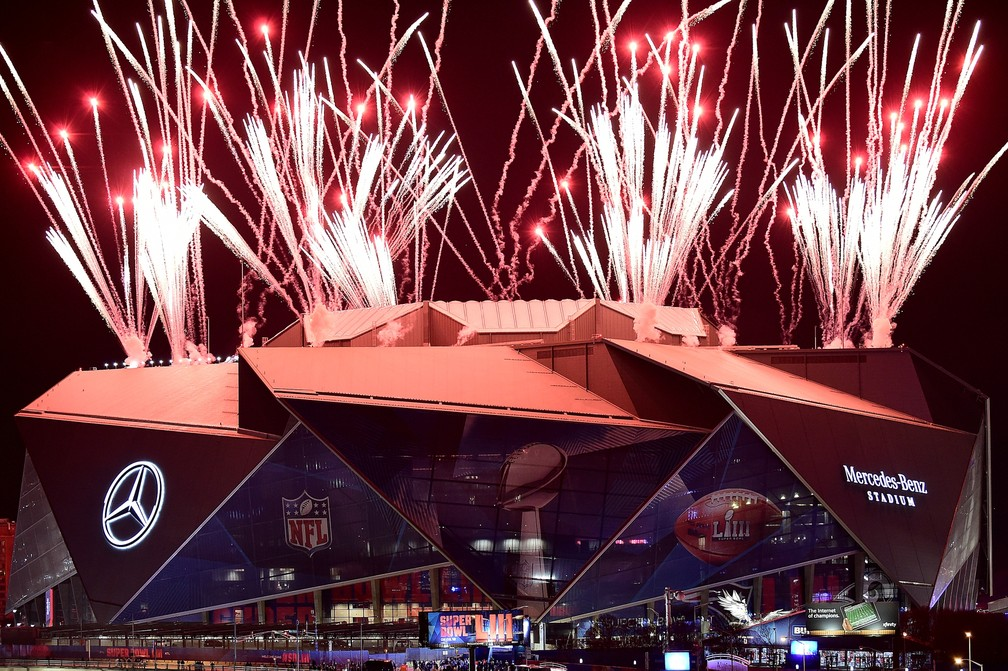 Super Bowl LIII - New England Patriots x Los Angeles Rams — Foto: Logan Riely/Getty Images