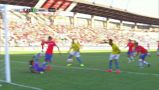Amadeu vê ansiedade e falta de lucidez para o Brasil reagir em derrota contra o Chile