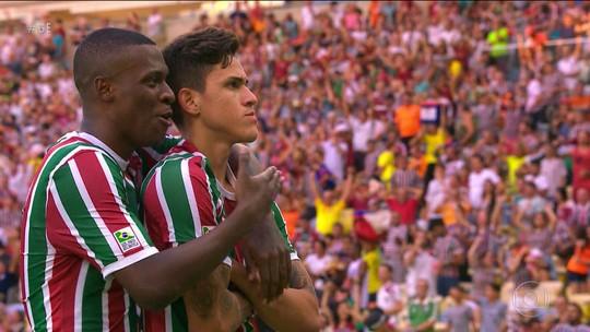 Artilheiro e garçom, Pedro vive boa fase pelo Fluminense