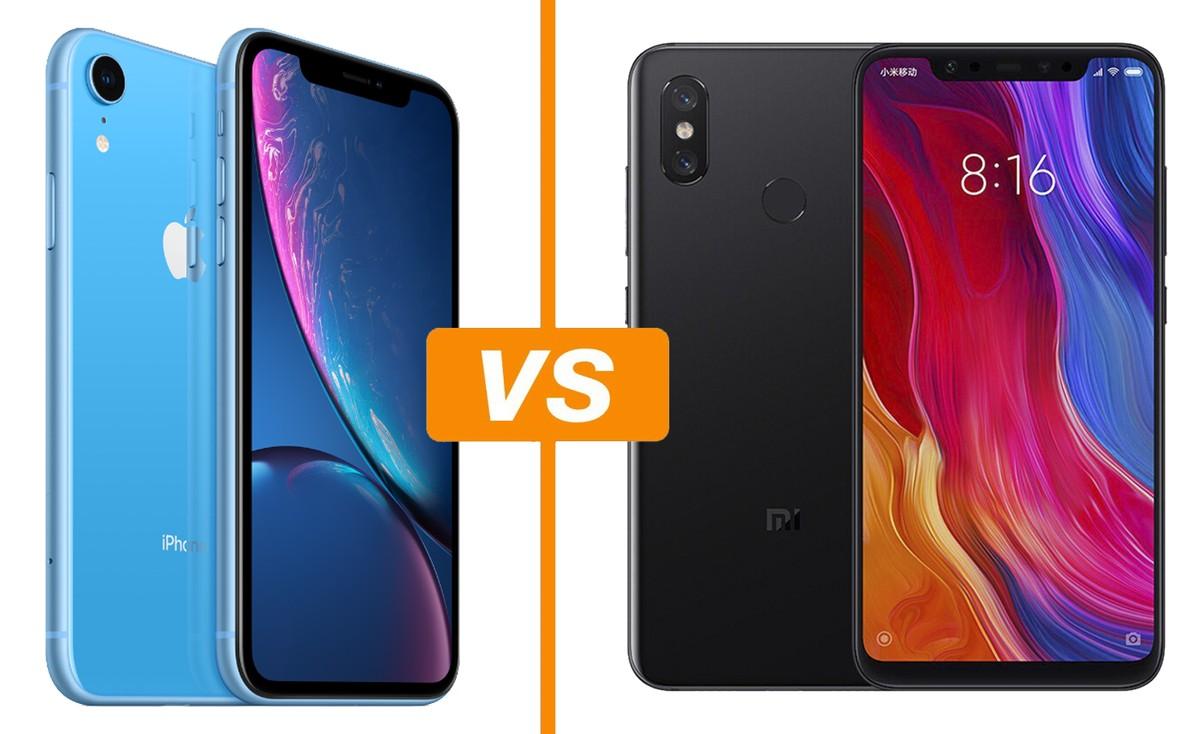 f4d273c19 Xiaomi Mi 8 vs iPhone XR: comparativo mostra diferenças de ficha técnica |  Celular | TechTudo