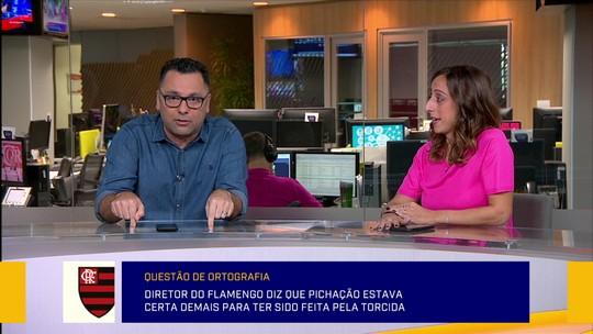 """Redação analisa fala de dirigente do Flamengo, e Barreto afirma: """"Não dá para contemporizar"""""""