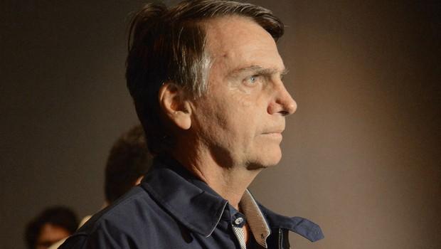 O candidato do PSL à presidência, Jair Bolsonaro (Foto: Fernando Frazão/Agencia Brasil)