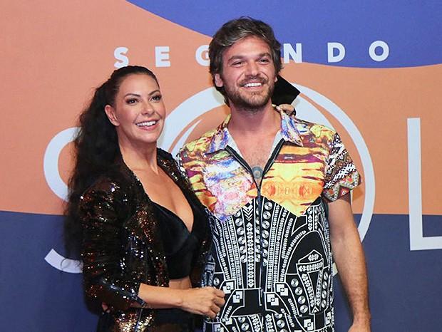 Fabíula Nascimento e Emílio Dantas (Foto: Daniel Pinheiro/AgNews )