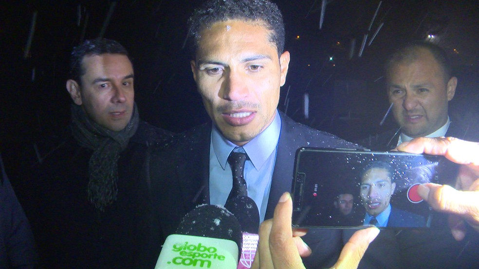Guerrero falou rapidamente após julgamento (Foto: Ivan Raupp )