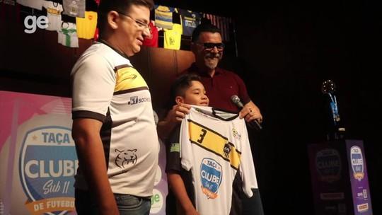 """Maior e melhor! Com 36 times, Taça Clube sub-11 começa nesta quarta com """"padrinho"""" Ricardo Rocha"""