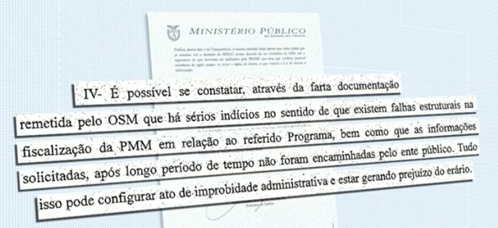 MP-PR investiga irregularidades no Programa Municipal de Bolsas de Estudo, em Maringá — Foto: Reprodução/RPC
