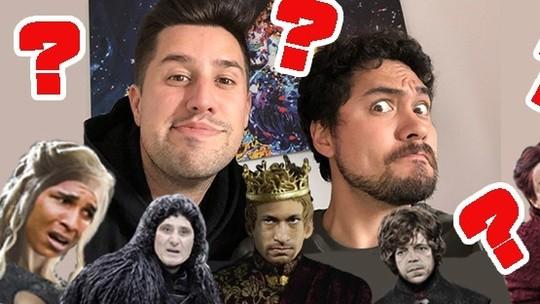 """Chamada de Vídeo #9: qual técnico é quem em """"Game of Thrones""""?"""
