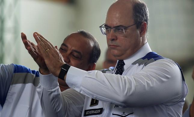 Witzel já comunicou a Cabral sobre sua saída do cargo