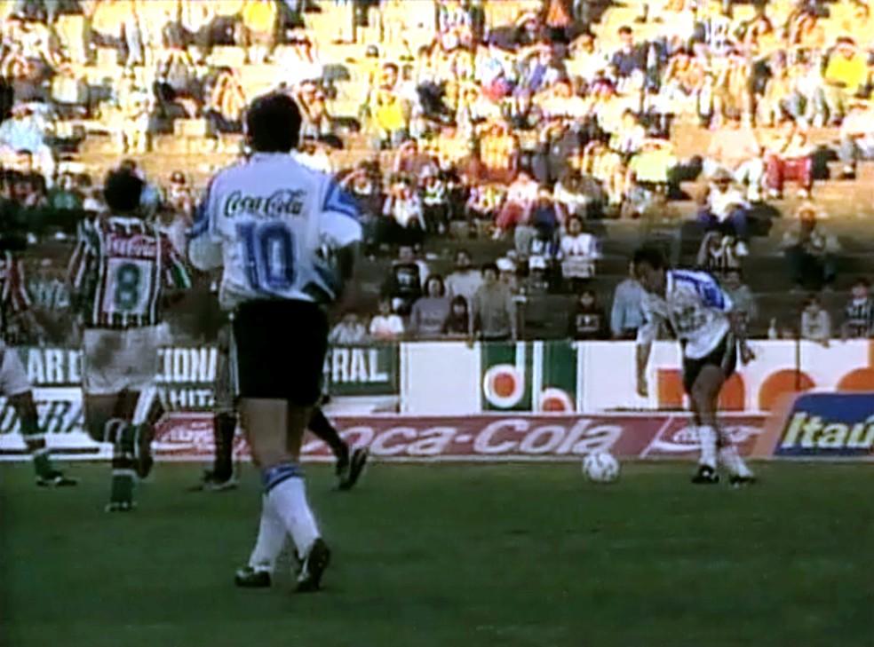 Ex-meia passou por grandes clubes, como Cruzeiro, Bahia e Grêmio (foto) — Foto: Reprodução