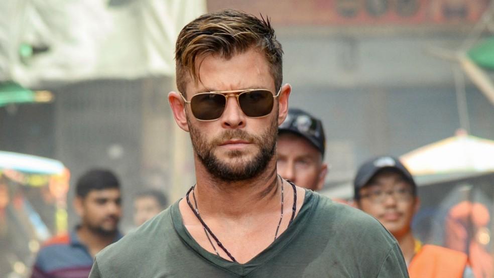Resgate, estrelado por Chris Hemsworth, é o filme original da Netflix mais assistido da história — Foto: Divulgação/Netflix