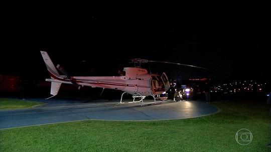 Polícia de São Paulo apreende helicóptero usado para transportar drogas