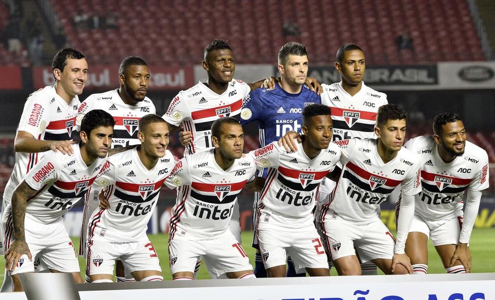 São Paulo perdeu para o Fluminense no Morumbi — Foto: Marcos Ribolli