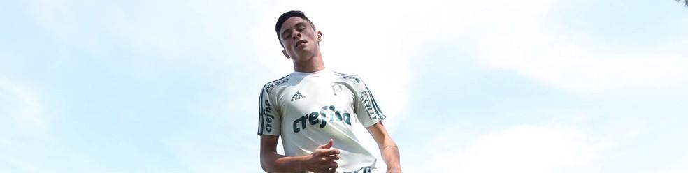 Diogo Barbosa, lateral do Palmeiras (Foto: Cesar Greco / Ag. Palmeiras)