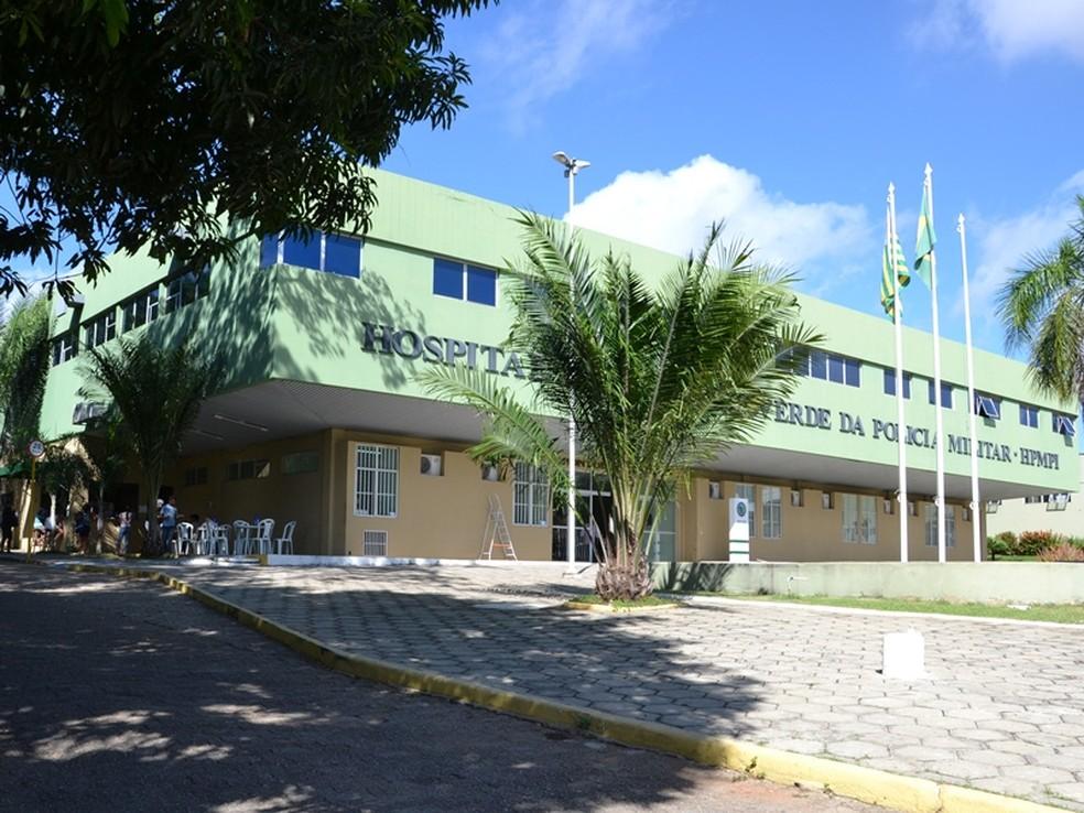Hospital da Polícia Militar do Piauí (HPM). — Foto: Divulgação/Sesapi
