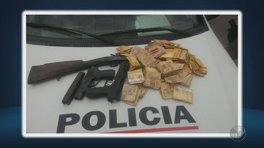 Polícia encontra suspeitos de participação em assalto a banco em Conceição da Aparecida, MG