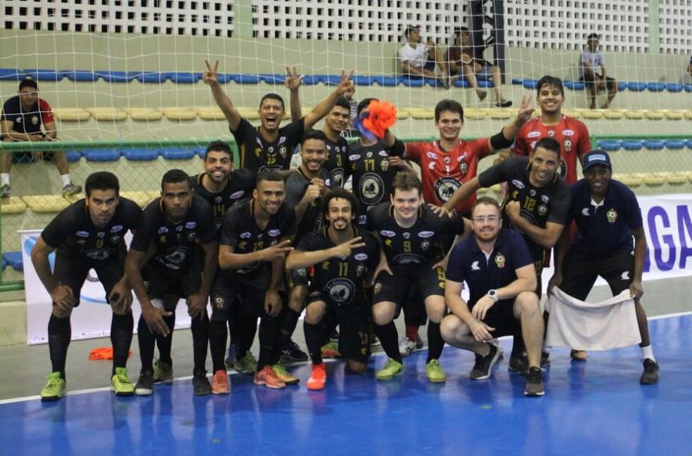 JES na Liga Nordeste de futsal (Foto: Alberto Adalberto/JES)